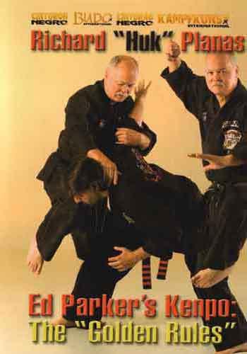 VD7170A Europe Ed Parker Kenpo Golden Rules DVD Richard Huk Planas