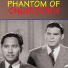 VD7268A Phantom of Chinatown movie DVD 1940s Jimmy Wong & Capt Street