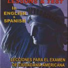 VD7295A U.S. Citizenship Lessons & Test in English & Spanish DVD naturalization exam
