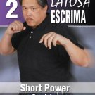 VD7355A Rene Latosa Advanced Escrima #2 Short Power DVD Filipino Martial Arts