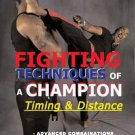VD7361A Karate Martial Arts Fighting Techniques Champion Timing & Distance DVD Brewerton