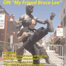 VD7363A Kung Fu Master Leo Fong On My Friend Bruce Lee DVD training Jeet Kune Do