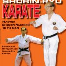 VD7378A Nagamine Okinawan Shorin Ryu Karate DVD 10th dan black belt