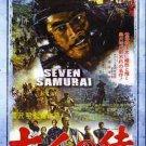 VO1528A  Seven Samurai movie DVD Toshiro Mifune, Akira Kurosawa action classic!