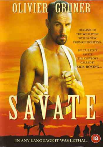 VD7561A French Savate Kickboxing movie DVD Oliver Gruner, Joseph Charlemont