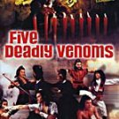 VD7504A Five Deadly Venoms movie DVD kung fu action 1978