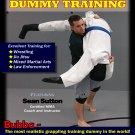 VT1501A Sutton MMA Bubba Grappling Man Dummy Training DVD jiu jitsu judo wrestling