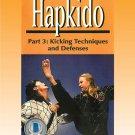 VD5192A Korean Karate Hapkido #3 Kicking Techniques & Defenses DVD Scott Shaw
