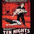 VD7662A Classic Movie 10 Nights in a Bar Room DVD William Farnum Thomas Santschi