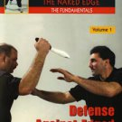 VD5289A EDG01-D  Naked Edge #1 Defense Against Edged Weapons DVD Tarani