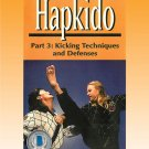 VD5192A HAP03-D  Hapkido #3 Kicking Techniques & Defenses DVD Shaw
