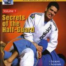 VD5152A MACH04-D  Secrets of Half-Guard #1 DVD Brazilian Jiu Jitsu MMA