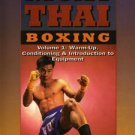 VD5168A MTB01-D  Muay Thai Boxing #1 Warm Up Conditioning & Equipment DVD Kamnark