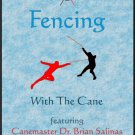 VD2601A  2 DVD SET Fencing with the Cane Self Defense Olympic Fencing - Brian Salinas