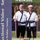 VD2606A  Techniques of the Ancient Weapon Bokane DVD Mark Shuey kata blocks long cane bo