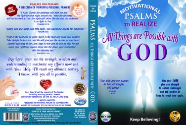 VO7111A  Bible Psalms to Realize All Things are Possible DVD Set + Audio CD Set prayer