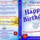 VO7123A  Bible Psalms for Your Happy Birthday & Beyond (MEN) DVD + Audio CD Set prayer