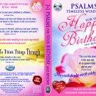 VO7124A  Bible Psalms for Your Happy Birthday & Beyond (WOMEN) DVD + Audio CD Set prayer