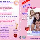 VO7128A  Bible Psalms for My Blessed Wife partner love DVD+ Audio CD Set uplifting prayer