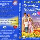 VO7132A  Bible Psalms to Reach a Bountiful Beautiful Life DVD+ Audio CD Set prayers