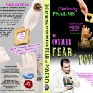 VO7140A  Bible Psalms to Conquer the Fear of Poverty DVD+ Audio CD Set uplifting prayers