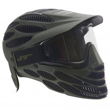 DUX8820A-OLV  JT Spectra Flex 8 Paintball Airsoft Thermal Full Coverage Goggle Headshield Olive/Blk