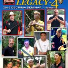 VD8160P  4 DVD SET Serrada Escrima Legacy 4 2016 Seminar Hawaii filipino martial arts