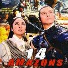 VD9029A  The 14 Amazons chinese Hong Kong kung fu action movie DVD English language