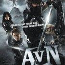 VD9034A  Alien Vs Ninja samurai action movie DVD shinobi iga sword fight english dubbed