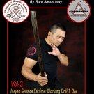VD8165A  Inayan System Eskrima #3 Kadana De Mano stick blocks disarms DVD Suro Jason Inay