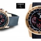 AW0153A  CHALK Quincy INTERNATIONAL 46mm Watch Stainless Steel Rose Gold IP Case