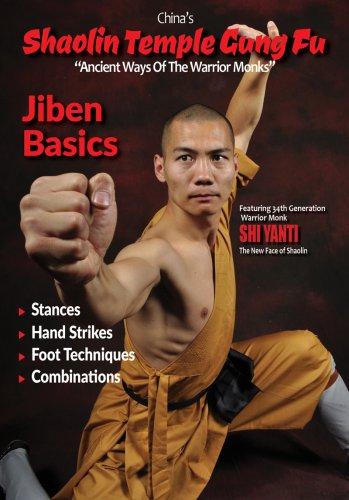 VD9040A  China Shaolin Temple Gung Fu #4 JiBen Basics DVD Yanti stances strikes combos