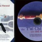VO3002A  Chinese Yang Tai Chi Straight Sword DVD Ted Mancuso taiji jian kung fu