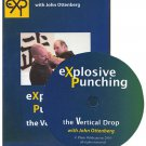 VO3007A  19012  Explosive Punching Vertical Drop martial arts self defense system DVD Ottenberg