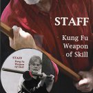VO3012P  DVD/BOOK SET  Chinese Staff Kung Fu Weapon of Skill Ted Mancuso shaolin long fist bo