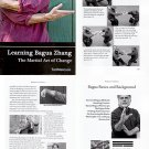 BO8204A  Learning Bagua Zhang Chinese Martial Art Change book Mancuso self defense practice