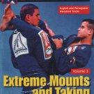 VD5046A  Extreme Jiu-Jitsu #3 Mounts & Taking the Back DVD Leoznho Vieira MMA
