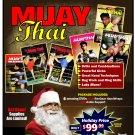 VD9913P  Muay Thai Kickboxing Gift Set 6 DVDs + Handwraps & Ankle Support $195 Value!