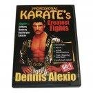 VL0703A  Bob Wall Professional Karate Greatest Fights Dennis Alexio DVD Hawaiian 60-1