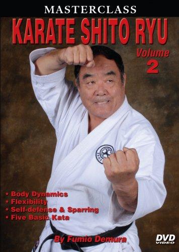 VD5502A  Master Class Fumio Demura Karate Shito Ryu #2 Self Defense DVD japanese shotokan