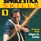 VD5147A  Lameco Eskrima Essential Single Stick Skills #1 Martial Arts DVD Edgar Sulite
