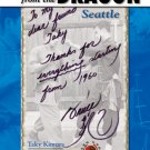 BE0025A  Regards From the Dragon Seattle - Bruce Lee Book Taky Kimura David Tadman Rev Ed