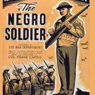VD7661A  The Negro Soldier US Army Recruiting Documentary 1944 WWII DVD african american