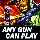 VD6006A  Any Gun Can Play - classic spaghetti western movie DVD George Hilton Edd Byrnes