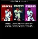 BO9941A Kobudo Karate Martial Arts Weapons Sai Kama Tonfa Techu Book Richard Kim