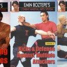 VD5264P  3 DVD Set Combat Martial Arts Counter Grappling Emin Boztepe wing tsun escrima