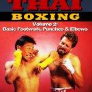 VD5169A  Muay Thai Boxing #2 Basic Footwork Punches & Elbows DVD Vut Kamnark wai kru