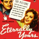VD9051A  Eternally Yours DVD - 1939 B/W Romantic Comedy Loretta Young David Niven