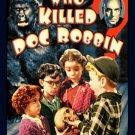 VD9074A  Hal Roach Studios Who Killed Doc Robbin DVD - 1948 mystery comedy B/W