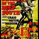 VD9075A Drums in the Deep South DVD - 1951 Action Romance Civil War movie James Craig